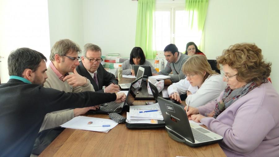 Pasar de los datos a  la acción · Encuentros de trabajo