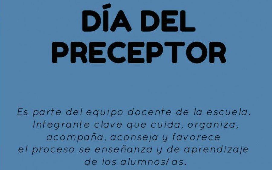 DÍA DE LAS Y LOS PRECEPTORES