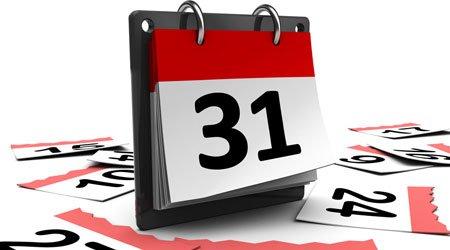 calendario de trayectorias